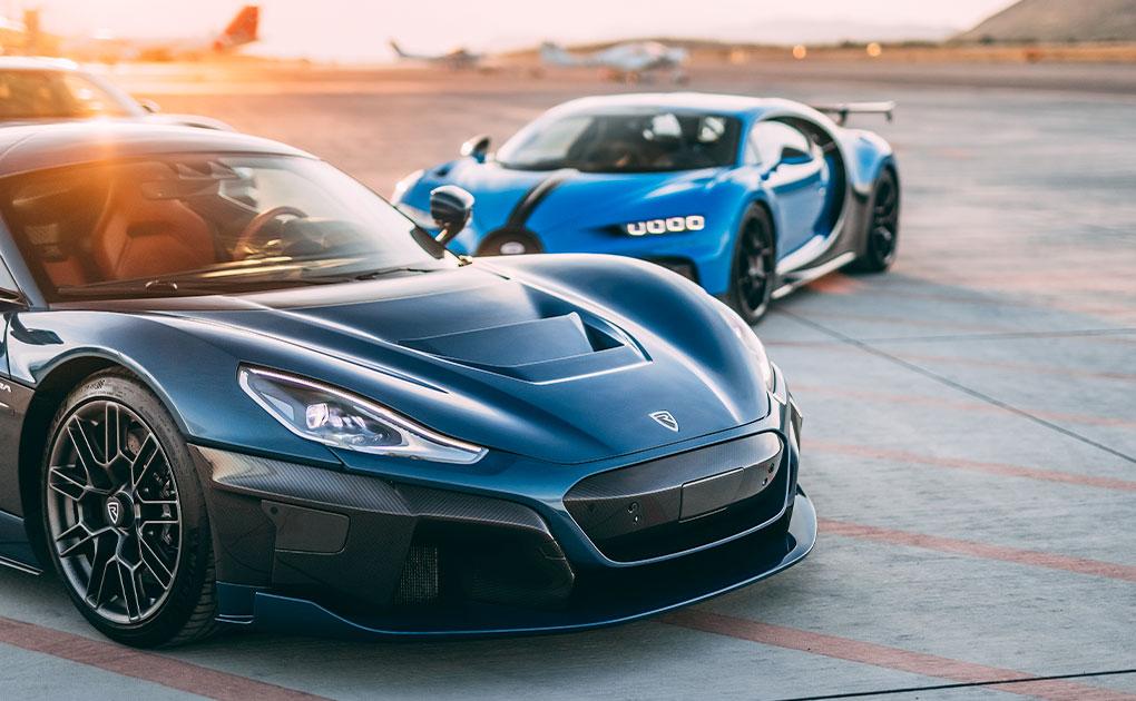 Volkswagen, Porsche and Rimac set up a joint venture